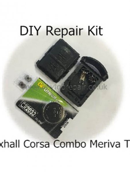Vauxhall Corsa Combo 2 Button DIY Repair Or Refurbish Kit